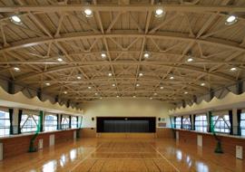平生中学校屋内運動場